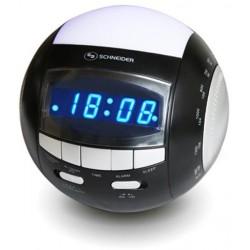 Radiodespertador SCHNEIDER CR 60 Dual Bl