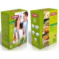 Set Fuentes PYREX 912S711/5042  5 piezas